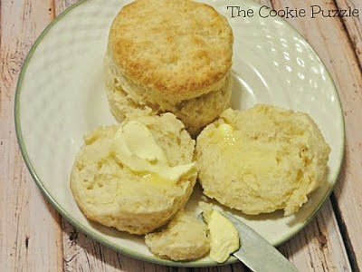 Melt in Your Mouth Biscuits @ The Cookie Puzzle