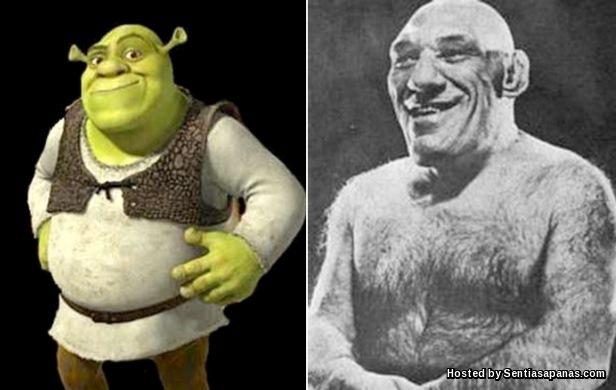 Maurice Tillet - Shrek