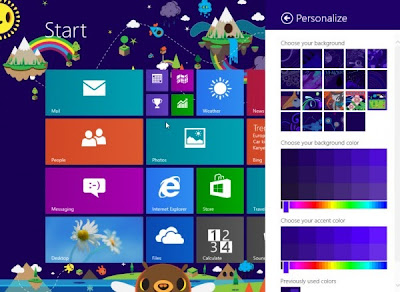 Windows 8.1 - Enhanced Start Screen