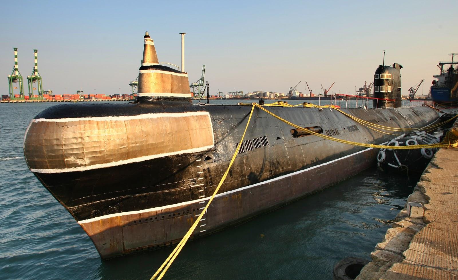модель подводной лодки проект 641
