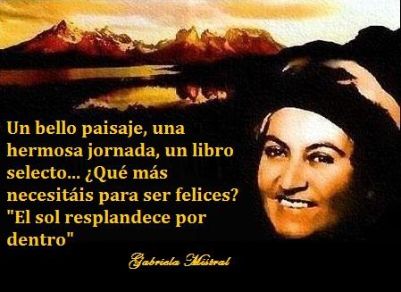 Gabriela Mistral un poema
