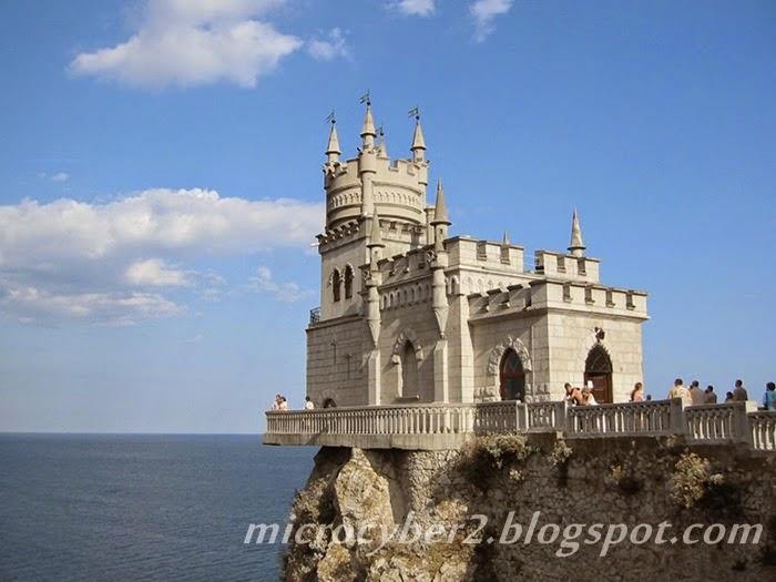 Swallow's Nest Castle, Ukraina