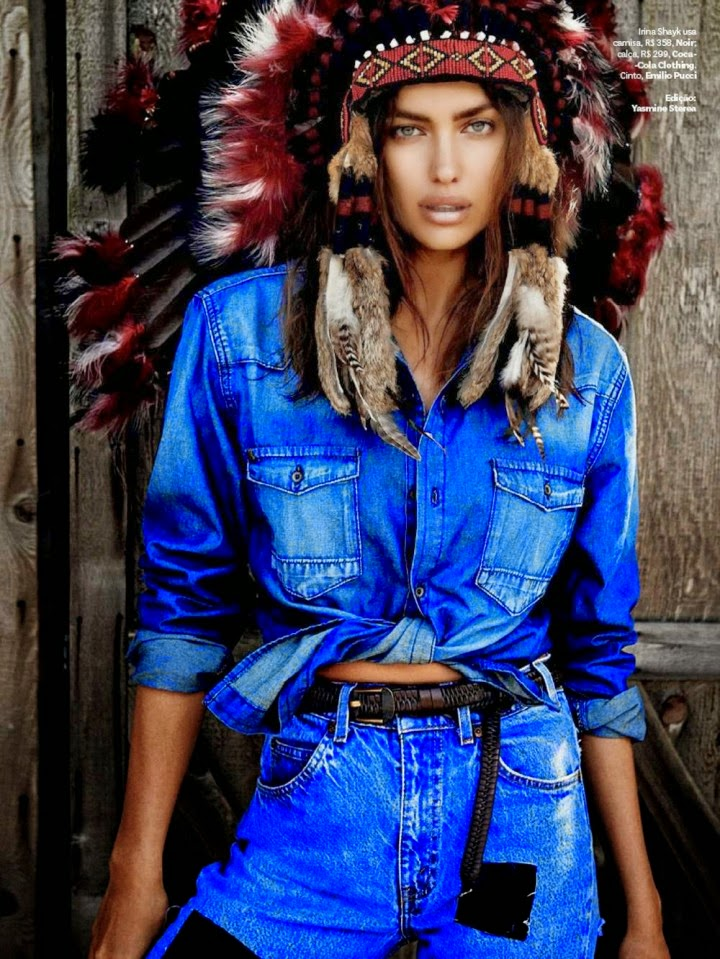 Irina Shayk – Vogue Brazil Magazine (August 2014)