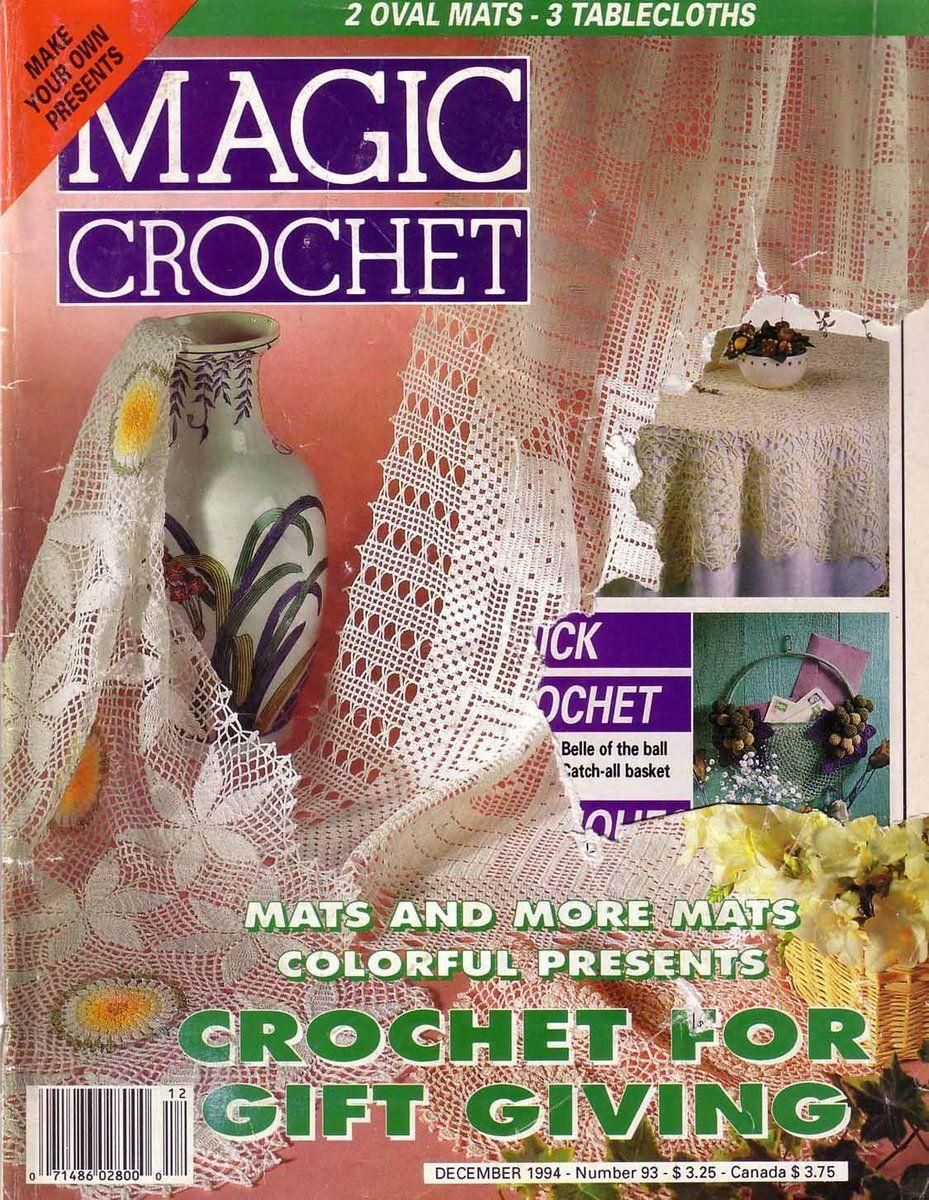 Magic Crochet : Magic Crochet No. 93