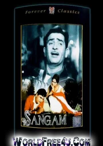 Poster Of Hindi Movie Sangam (1964) Free Download Full New Hindi Movie Watch Online At worldfree4u.com