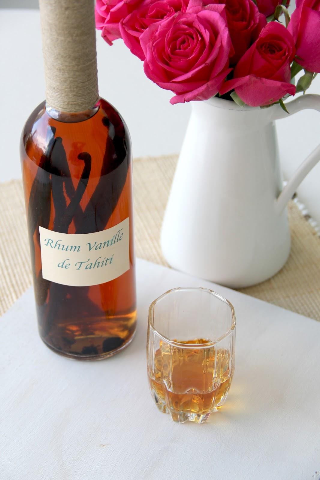 how to make vanilla rum