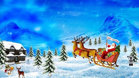 Merry Christmas Santa Claus Songs Lyrics | Here comes Santa Claus Songs 2015