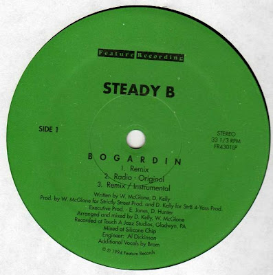 Steady B – Bogardin / Let It Go (VLS) (1994) (FLAC + 320 kbps)