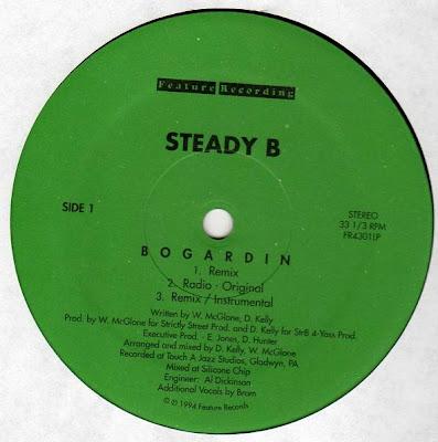 Steady B – Bogardin / Let It Go (VLS) (1994) (FLAC + 320 kbps)