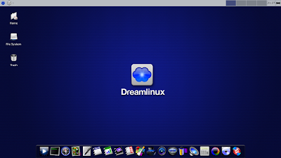 DreamLinux desktop review