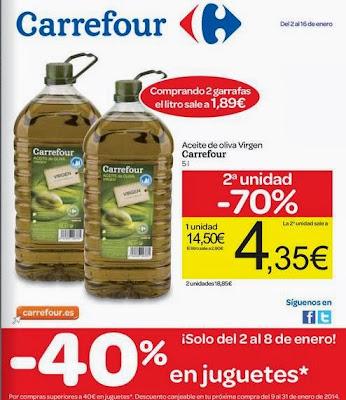 catalogo carrefour ofertas enero 2014