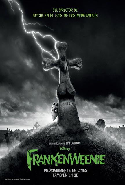 Poster de FrankenWeenie, lo nuevo de Disney y Tim Burton