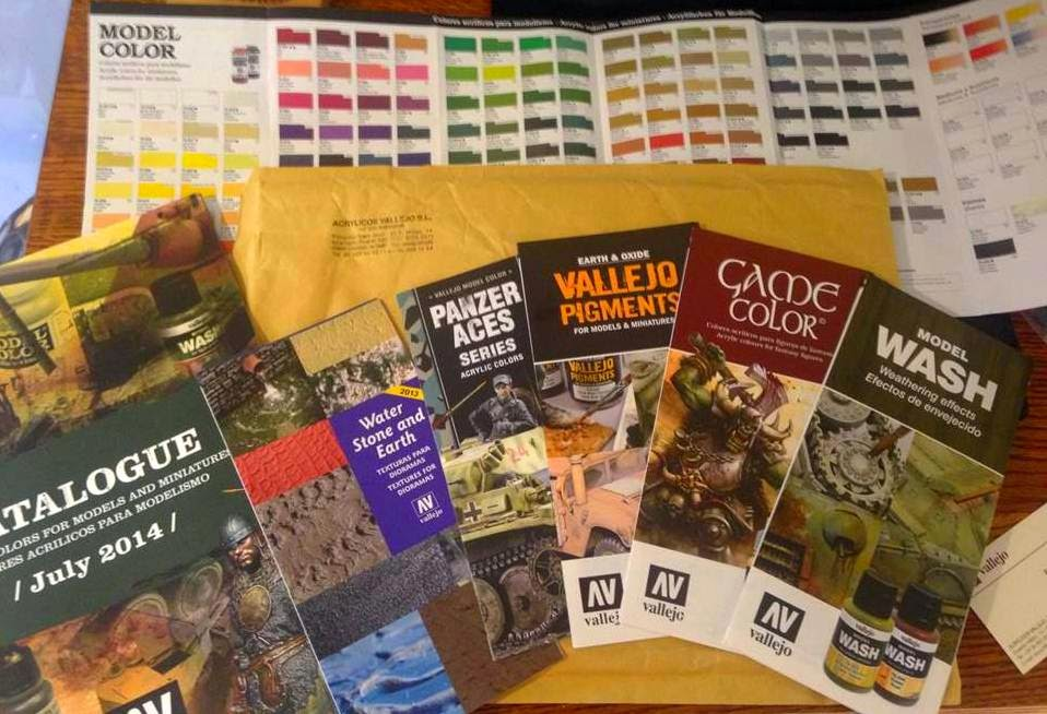 Battle Gaming One, Catalogs, Vallejo Paints, Acrylicos Vallejo