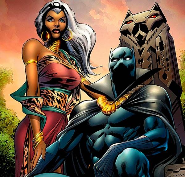 Pantera Negra rey de Wakanda