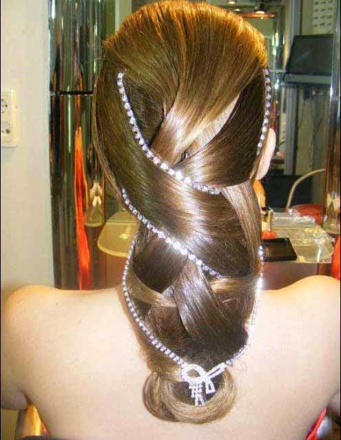 Peinados para Cabello Largo Recogidos