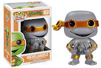 Funko Pop! Michelangelo Metallic & Grayscale
