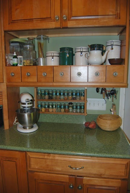 Of My Kitchen And Put Everything I Use To Bake U2013 Spices, Extracts, Baking  Powder/soda, Molasses, And Other Ingredients In The Same Cabinet With The  Tools I ...