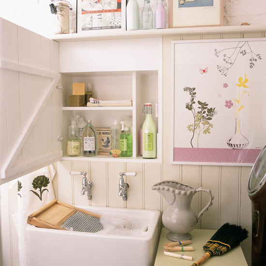 New Home Interior Design: Country utility room decorating ideas