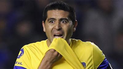 Riquelme jugaría en la segunda división de Argentina
