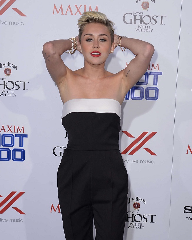 Miley Cyrus - Maxim Hot 100 Party in Hollywood