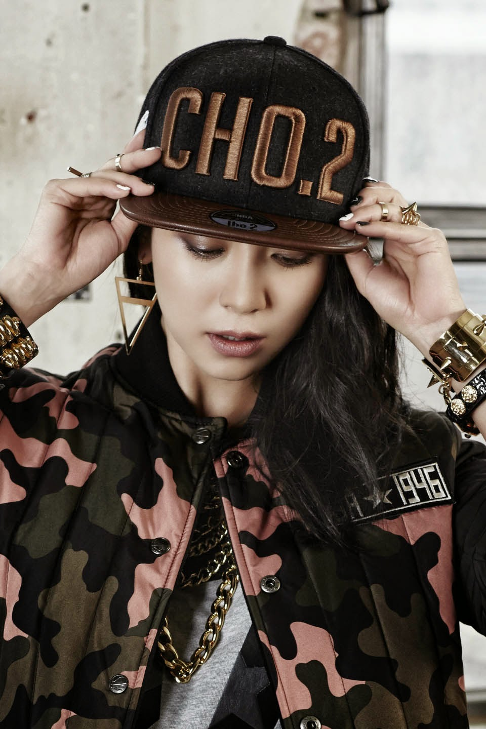 Song Ji Hyo - NBA Fall Winter 2014