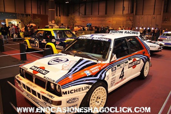 Lancia Delta HF Integrale rallyes