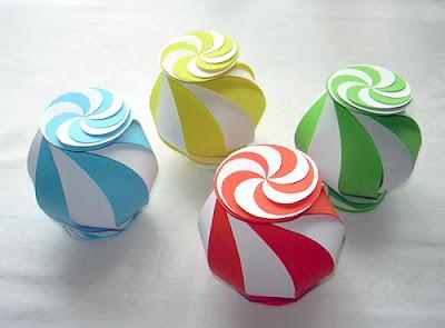 Colorful Origami Paper Box