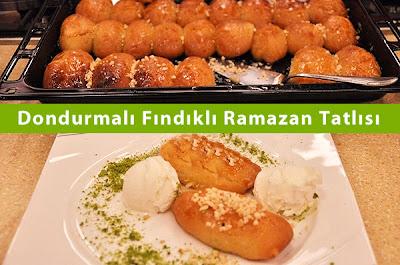 Dondurmalı Fındıklı Ramazan Tatlısı