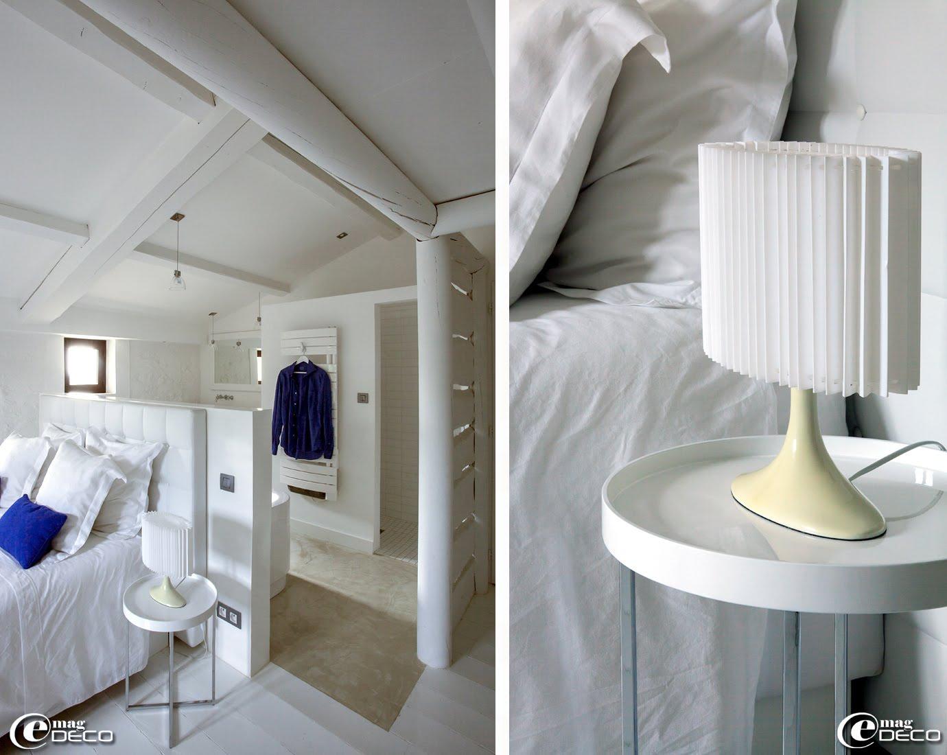 Une chambre de la maison d'hôtes de charme 'La Bergerie de Nano'