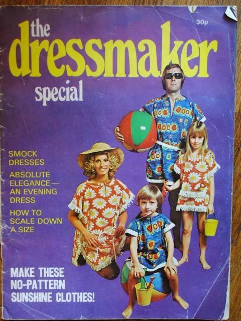 The Dressmaker magazine 60s 70s