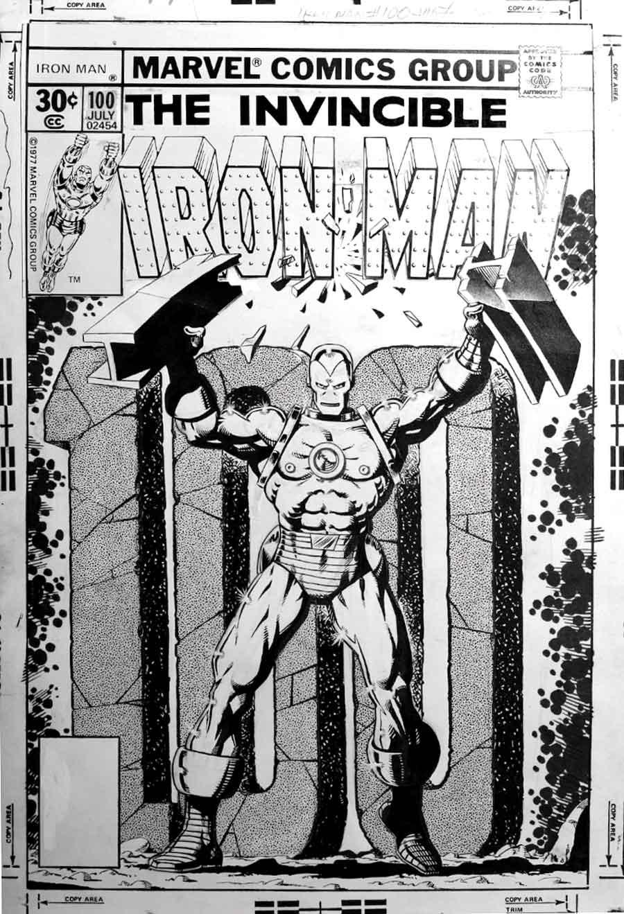 Iron Man Comic Original Iron Man 100 Original Jim
