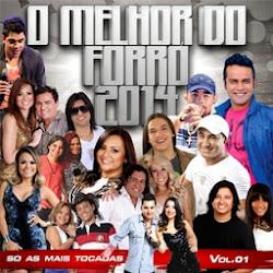 capa O Melhor do Forró 2014