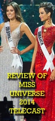 Review of Miss Universe 2014 Telecast