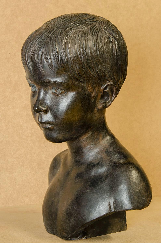Retrato escultura barro cocido 2