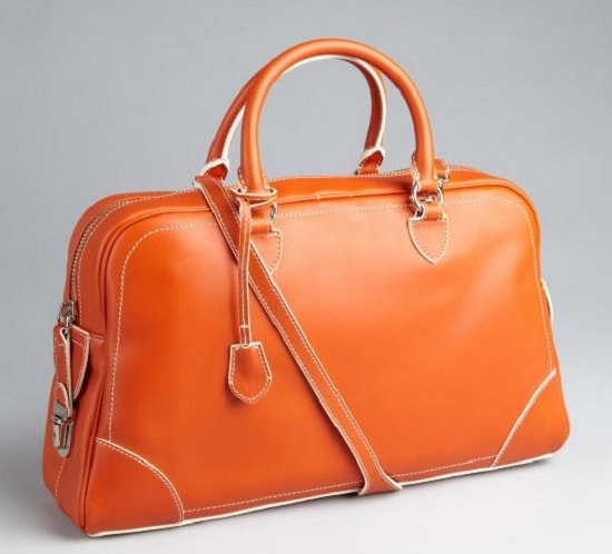 lust list- trendy satchels+orange satchels+satchels+ladies handbags+marc jacob bags