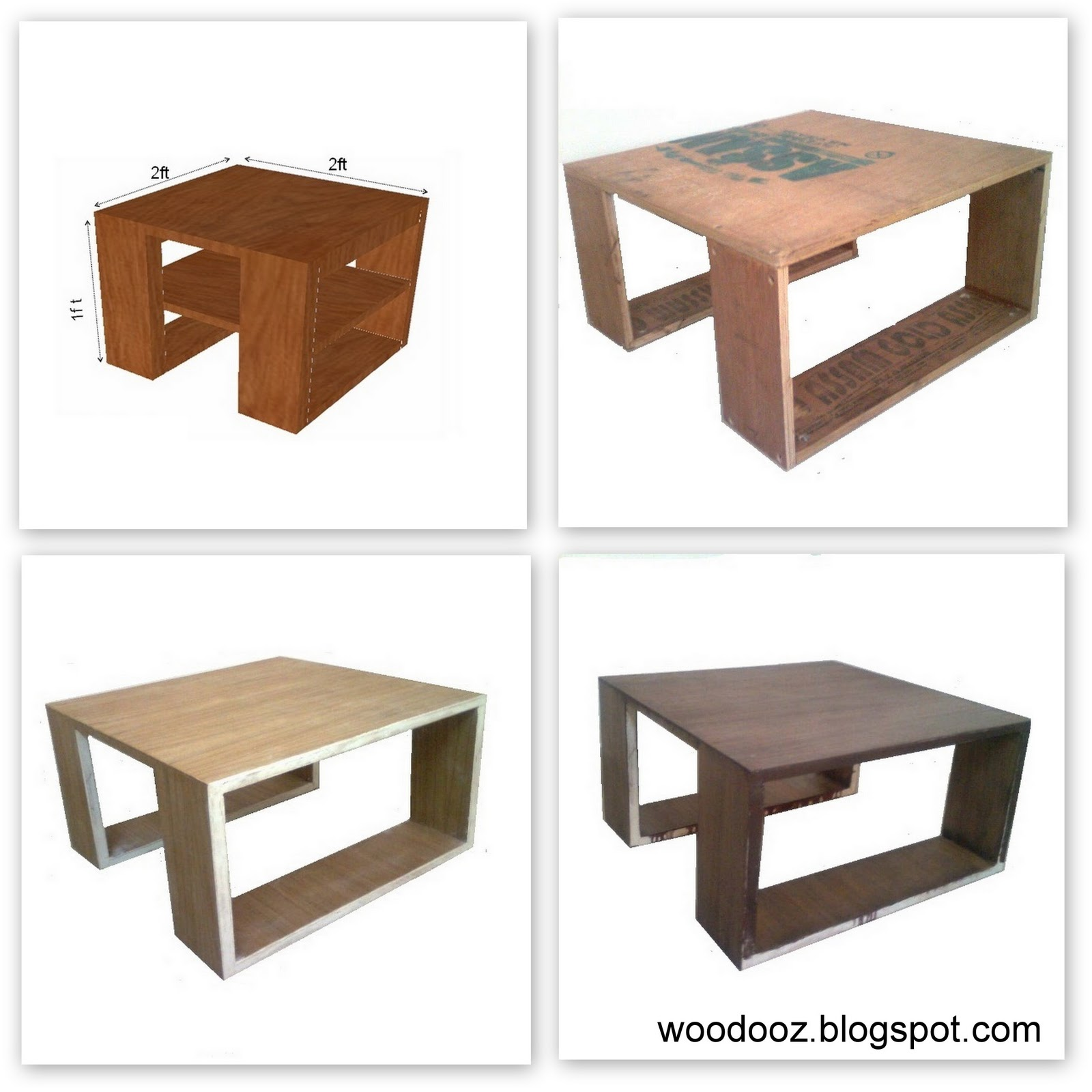 Low Center Table Coffee table Indian Woodworking DIY Arts