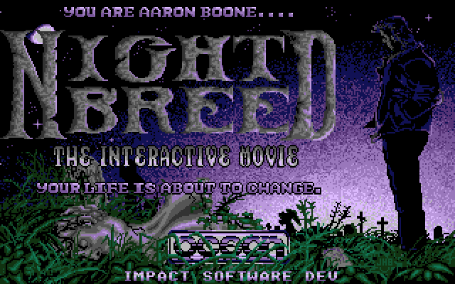 Nightbreed The Interactive Movie Title Screen