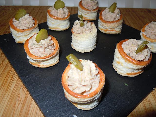 El blog de debora mis recetas del dia a dia pat de for Que cocinar para invitados