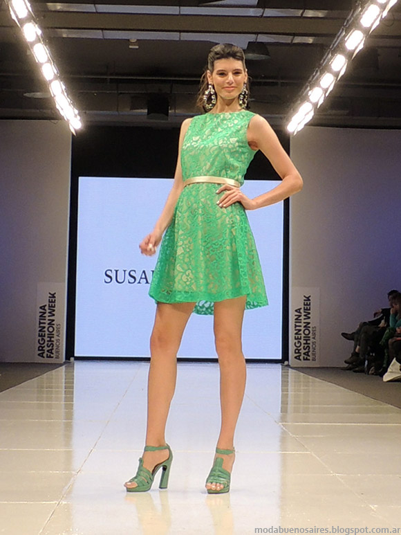 Susana Ortiz primavera verano 2015. Moda vestidos primavera verano 2015.