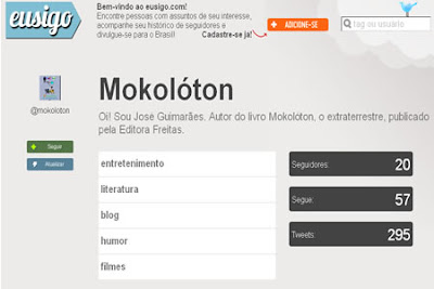 pagina eu sigo de Mokoloton extraterrestre