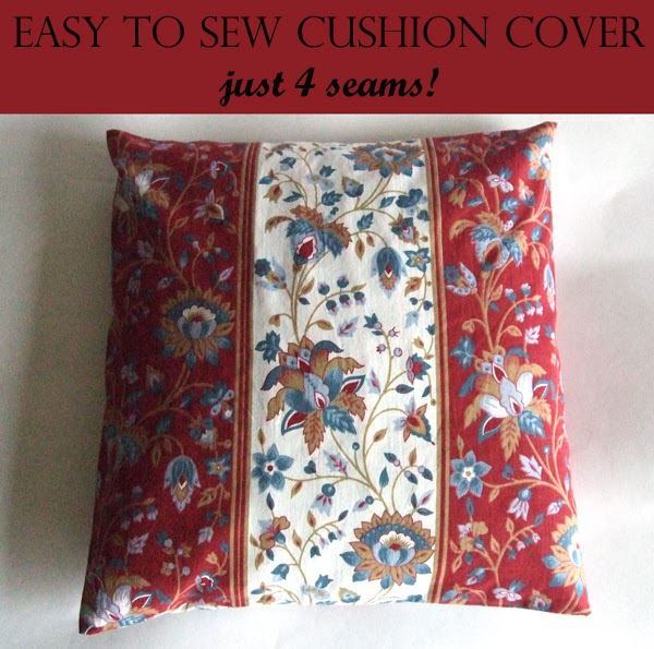 Easy Sew Cushion Cover