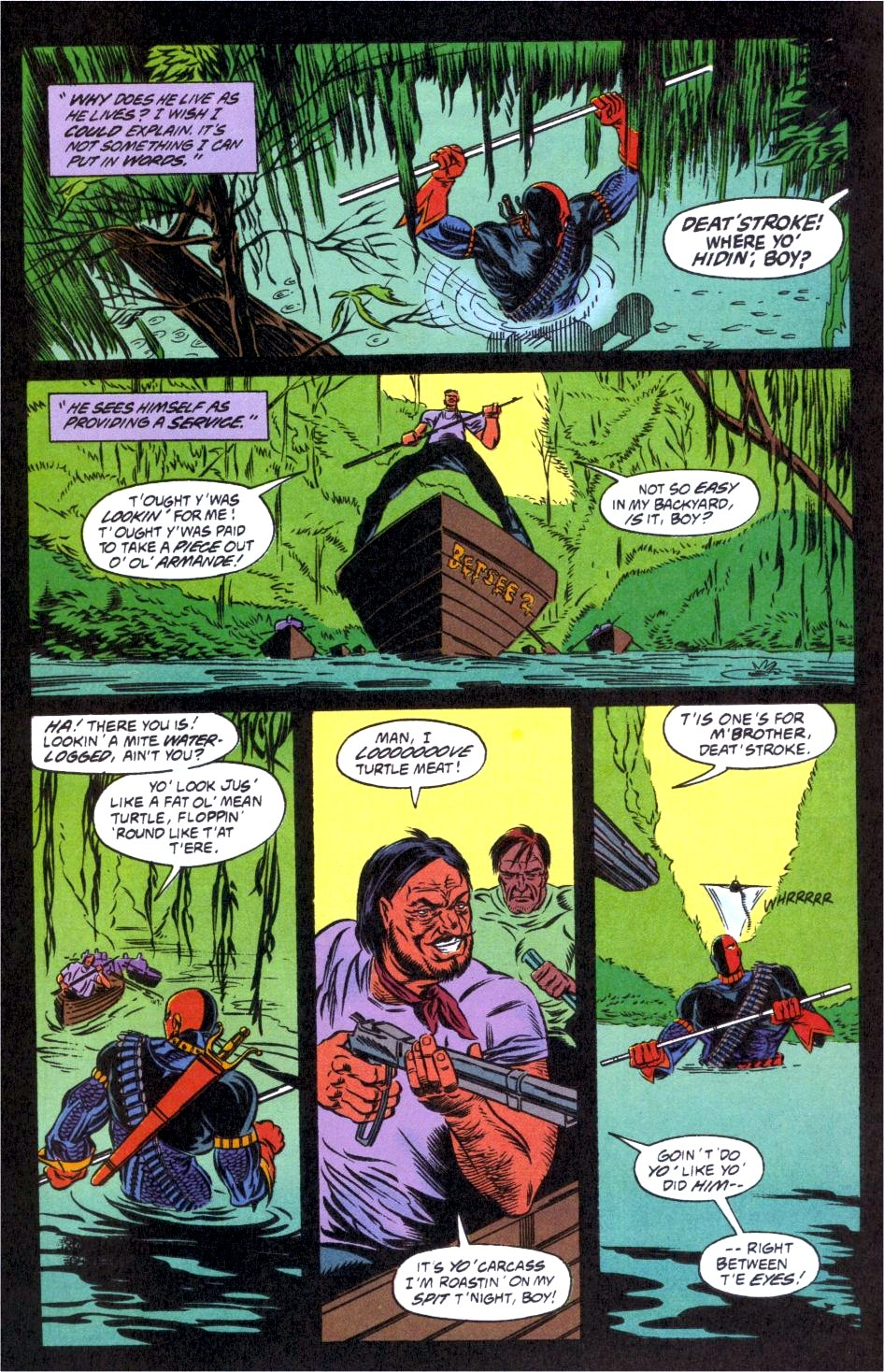 Deathstroke (1991) Issue #12 #17 - English 22