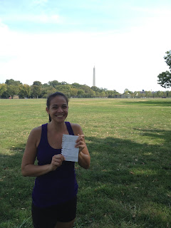 Working out in DC