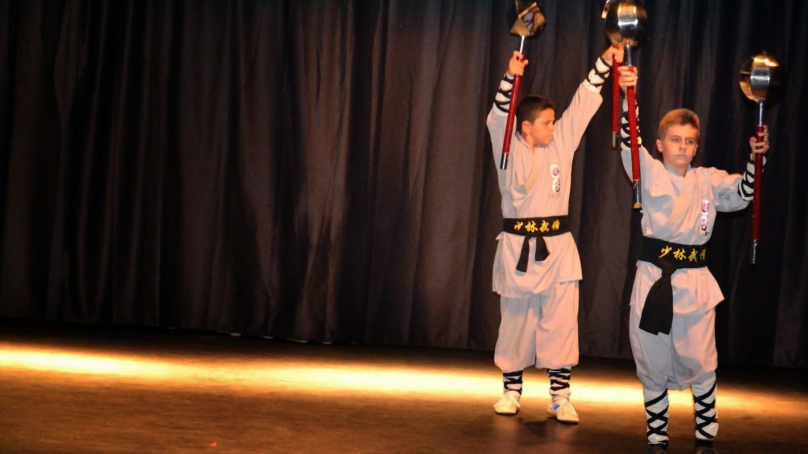 Exhibición de Kung Fu (Seminario de Verano) y entrega de los Diplomas.