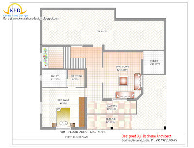 First Floor Plan - 254 Sq M (2741 Sq. Ft.)