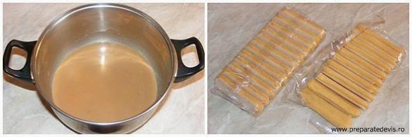 retete culinare piscoturi insiropate in zahar ars si lapte pentru tort de visine si piscoturi,