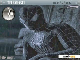 Tema Nokia E63 spiderman