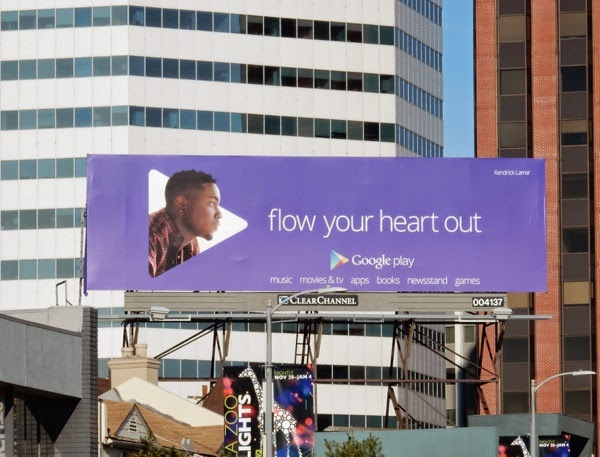 Google Play Kendrick Lamar Flow your heart out billboard