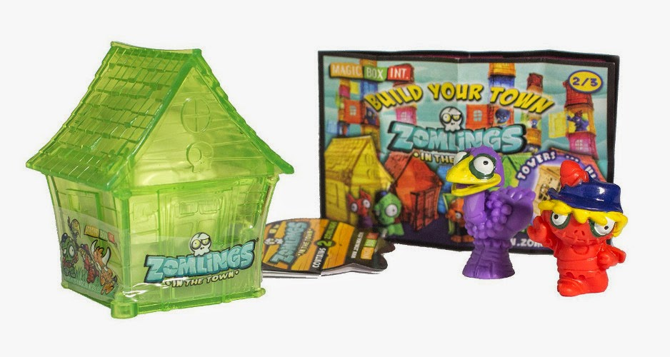 JUGUETES - ZOMLINGS House | Casa | +2 muñecos | Figuras | Serie 2 Producto Oficial | Magic Box Int