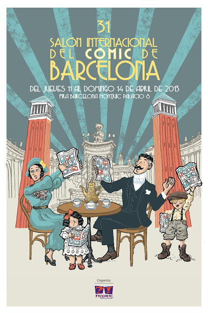 cartel salon comic barcelona 2013